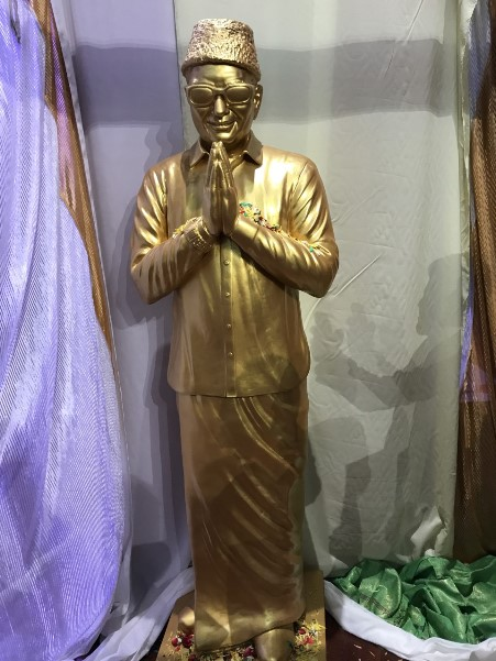 MGR statue-100 year celebrations-