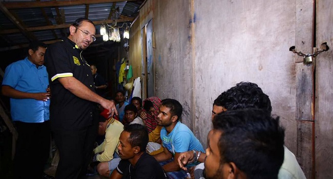 Rohingyadetainedattaiping