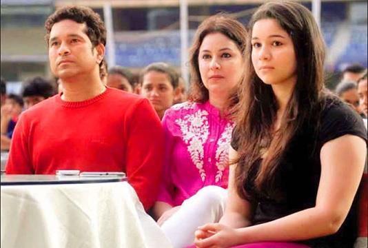 Sachin daughter